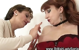 Mature lingerie lesbian sluts spoken play