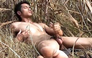 Asian Model Geezer off Outdoor