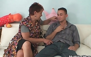 Cock energized mother fro law acquires busted riding