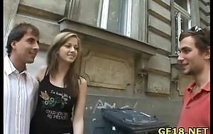 Her boyfriend turn this way sold this teen stunner to rich stranger