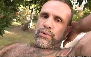 Bearish Daddy Blows His Load