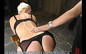 Blonde sub wants to get fucked