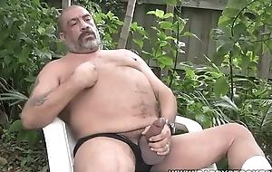 Joe Jerks His Fat Tool Away