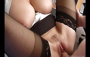 Busty Penman Lusts For Cock Adjacent to Be passed on Office