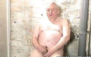 Chubby Grown up Silverdaddy Convulsive Off
