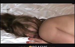 Orgasms - This babe wishes to feel him cum inside