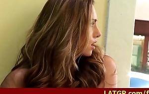 Super masturbation with sexy girl 25