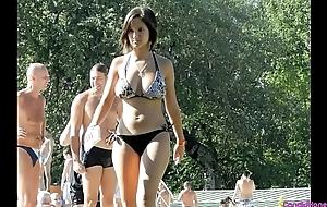 Beach Voyeur Hot Bikini Girls Topless Wicked Weasel