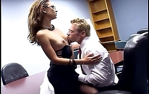 Sexy wordsmith sex in a bra garter and stockings