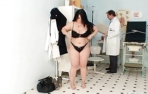 Big knockers fat mom Rosana gyno doctor criticism
