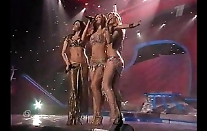 Russian pop stars group В_И_А_ Г_Р_А_ , erotic public show