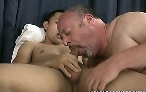Daddy Sucks Latino Twinks Cock