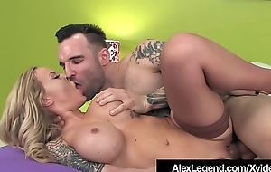 Inked Alexia Vosse Fucked Overwrought French Cock Alex Legend!