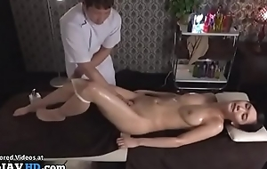 Japanese kneading sex with beautiful babe