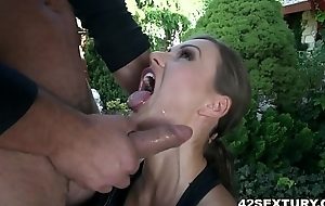 In return anal after morning supervise