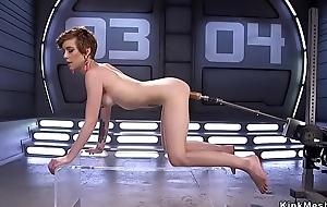 Slim ass alt babe shafting machine