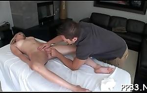 Stripped oil massage