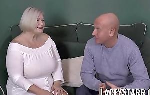 LACEYSTARR - Busty GILF negotiates a in agreement twat prosecute