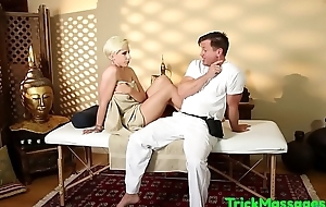 Order about amateur gagging exposed to cock not later than massage