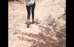 Candid ethiopian booty walking