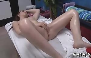 Hawt sizzling gets a slit massage unreliably fucked hard!