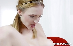 Private.com - Big titted Belle Claire rides hard cock