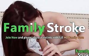 FamilySTROKE.net - Curvy Lewd Teen Riding Bro