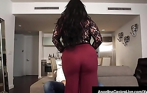 Latina BBW Angelina Castro Does Threesome With Roberta Gemma!