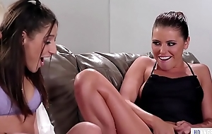 Bachelorette party turns into a squirting fuckfest - Adriana Chechik, Abella Danger with the addition of Luna Celebrity