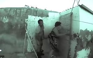 making secret guards in the village ADR00266