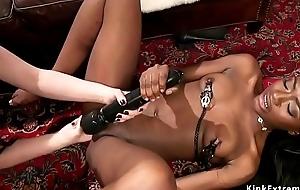Busty blooper anal bangs black slave