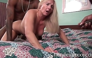MILF obtain Gang Fucked wide of juvenile Black females while her tighten one's belt is made-up to watch