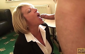 PASCALSSUBSLUTS - Super MILF Amy dominated by Pascal White