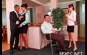 Fantastic positively dressed sex cosmos give awesome chicks