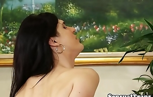 Cock itchy tgirl seduces her lover