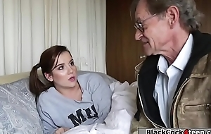 Petite pet banged by bbc of the debt