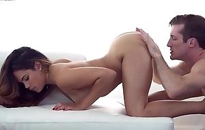 Beautiful foreigner woman with model looks sucks and fucks hardcore - Appetency and Sensual Scene (Keilani Kita)