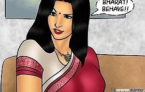 Savita Bhabhi Try one's luck 78 - Pizza Delivery &ndash_ Extra Sausage !!!