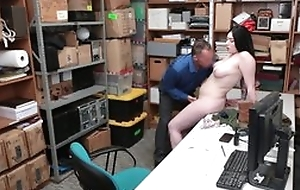 Tattooed cracksman plastic to have sex in the matter of cocksure LP officer