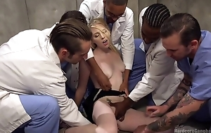 Group be fitting of horny studs bangs blonde slut and she can barely resist