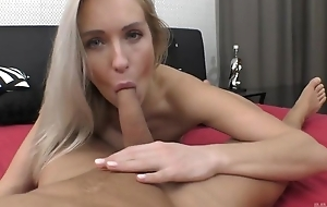 Passionate European babe with natural tits receives nicely fucked