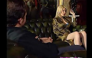 Sexy blonde wife cheating with young stud
