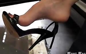 Sexy Female High Arch Dangle