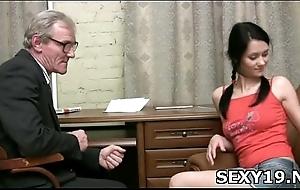 Sex-starved pretty unsubtle moans