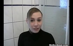 German amature porno debut with a black suitor