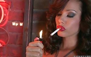 gravelly very sexy smoker
